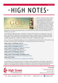 March 2015 In This Issue - High Street United Methodist Church