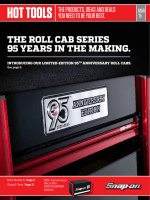 THE ROLL CAB SERIES 95 YEARS IN THE MAKING.