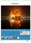 Amritsar Travel guide in PDF format
