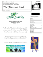 The Mission Bell - Mission Lutheran Church