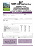 2015 FOMA Mid-Year Seminar Registration Form (print and fax)