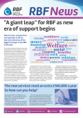 ���A giant leap��� for RBF as new era of support begins