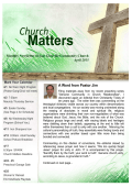 Matters - East Glenville Community Church