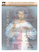 April 12, 2015 - St. John Neumann Catholic Church