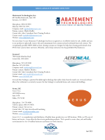 NADCA Associate Member Directory