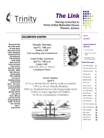Newsletter - Trinity United Methodist Church