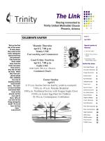 Newsletter - Trinity United Methodist Church