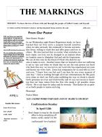markings - St. Mark`s United Methodist Church