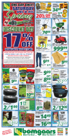 Bomgaars Spring Discount Day Flyer Prices Good April 14