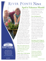 River Pointe News - Trilogy Health Services