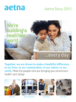 Building a Healthier World