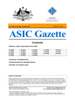 A16/15 - Australian Securities and Investments Commission