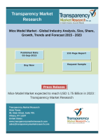 Mice Model Market - Global Industry Analysis, Size, Share, Growth, Trends and Forecast 2015 - 2023