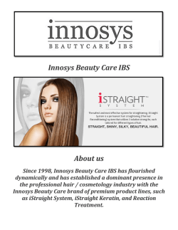 Innosys Beauty Care IBS: Best Hair Oil