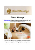Planet Massage Spa Fort Lauderdale