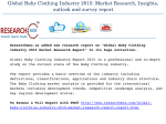 Global Baby Clothing Industry 2015 Market Research Report