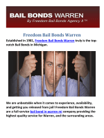 Freedom Bail Bond in Warren MI
