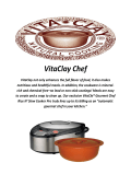 Rice Cooker Without Teflon By VitaClay Chef