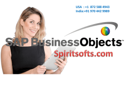SAP BO Online Training in Hyderabad India USA UK Canada Singapore Australia Dubai