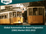 Global Automotive On-Board Diagnostics (OBD) Market- Size, Share, Trends