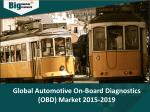 Global Automotive On-Board Diagnostics (OBD) Market- Size, Share, Trends