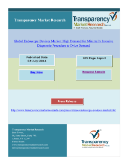 Global Endoscopy Devices Market