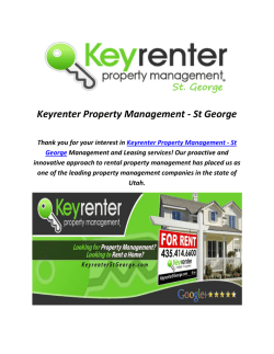 Keyrenter Property Management St George, UT (435-414-6600)