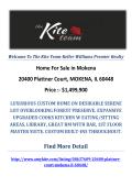20400 Plattner Court, MOKENA, IL 60448 : Mokena Homes For Sale by The Kite Team-Keller Williams Premier Realty