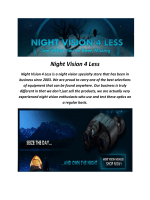Night Vision 4 Less Goggles For Sale