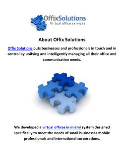 Offix Solutions Virtual Offices in Miami