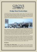 Dodge Ram Dealerships