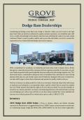Dodge Ram Dealerships