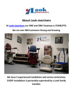 Look Stairchairs : Stairlift in Los Angeles