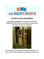 AA Best Choice Hvac Brookfield