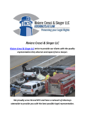 Accidents Lawyers By Riviere Cresci & Singer LLC