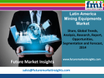 Mining Equipments Market size and forecast, 2014-2020 by Future Market Insights
