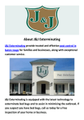 J&J Exterminating Pest Control Baton Rouge