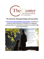 The Center for Neuropsychology and Counseling : Autism Bucks County