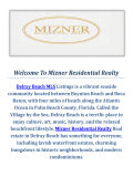 Delray Beach MLS Listings @ Mizner Residential Realty