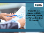 Global Blanket Market  - Size, Growth, and Forecasts in Over 60 Countries