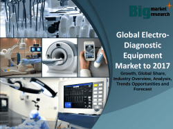 Global Electro-Diagnostic Equipment Market to 2017