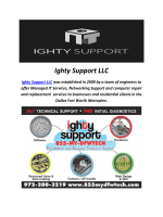Ighty Support LLC : Voip Phones Dallas