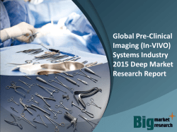 Global Pre-Clinical Imaging (In-VIVO) Systems Industry 2015  Market Research Report
