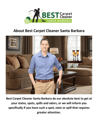 Best Carpet Cleaners Santa Barbara CA