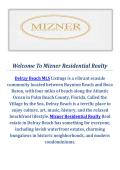 Mizner Residential Realty Delray Beach MLS Listings