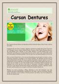 Carson Dentures