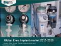 Global Knee Implant market 2015-2019
