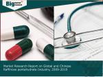 Raffinose pentahydrate Industry: Global and Chinese Market Analysis 2009-2019