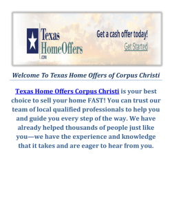 Home Buyers Corpus Christi by Texas Home Offers Corpus Christi