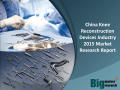China Knee Reconstruction Devices Industry 2015 Market Research Report